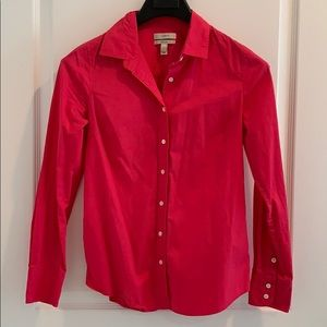J. Crew Dress Shirt (Hot Pink)